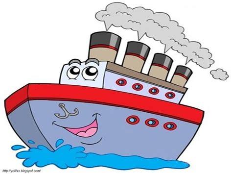 un barco animado dibujos ideia criativa desenho de navio fofo colorido