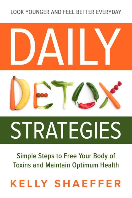 Everyday Detox Book by Daily Detox Strategies By Shaeffer Book Cover