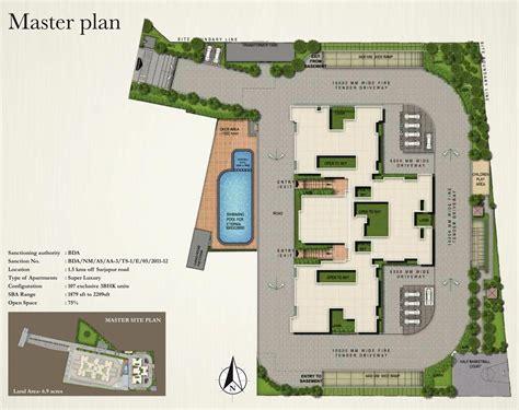 layout plan in bangalore sobha eternia bangalore karnataka india residential