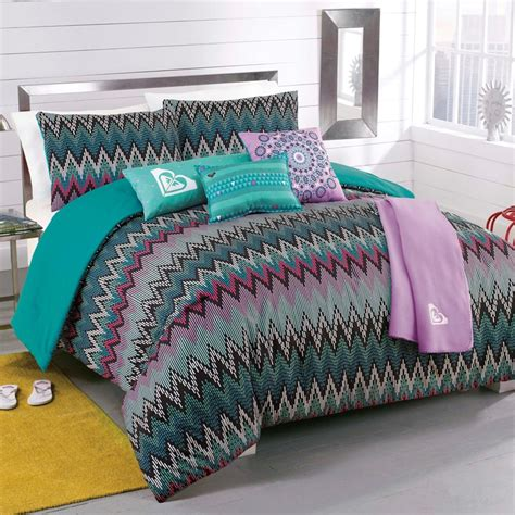 roxy comforter new roxy tribal dash twin comforter sham body pillow throw