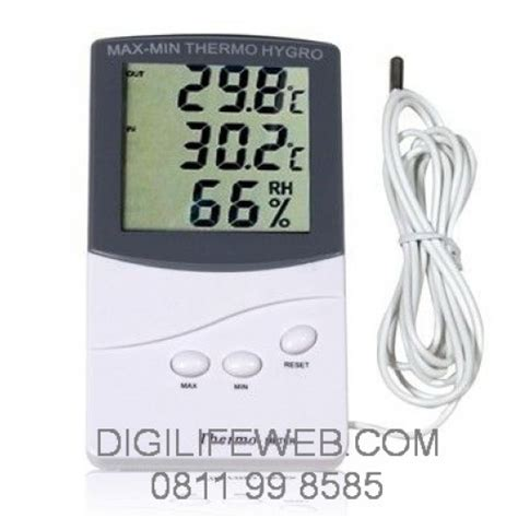 Thermometer Hygrometer Thermo Hygro Manual Suhu Dan Kelembapan hygrometer thermometer dual