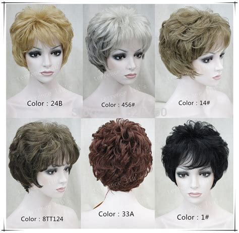 high quality hair color high quality synthetic hair wig women s naturally curly