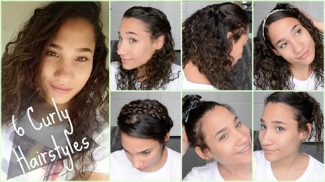 Hairstyles For Curly Hair For School For by 6 Curly Hairstyles For Back To School 2015