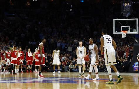 Michael Jackson Wins March Madness by Notre Dame Ousts Wisconsin From Ncaa Tourney 61 56 Ny