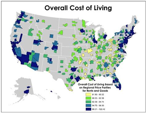 average rent in united states here s a pretty legitimate united states cost of living