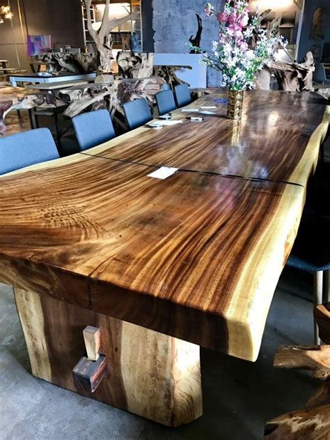 sold large  edge dining table  conference table