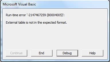 vba why do i get run time error 2147417848 80010108 excel vba run time error 13 type mismatch range excel