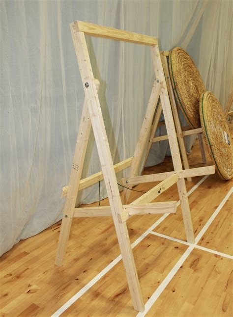 archery bow stand plans diy archery target stand diy do it your self