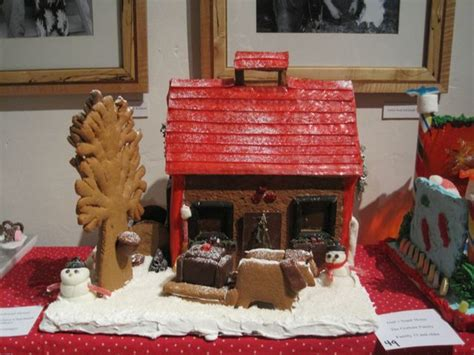 gingerbread commercial mall decorations 2016 gingerbread house exhibition and contest vermont folklife center