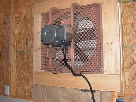 Garage Exhaust Fan Ideas