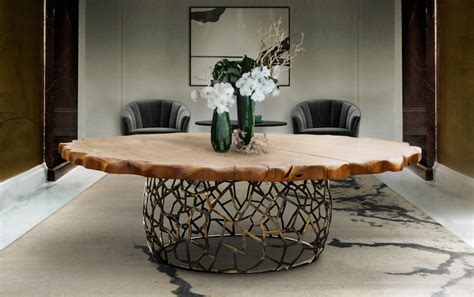 Unique Wood Dining Room Tables 10 Unique Wooden Dining Tables That Will Leave You Astonished