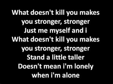 stronger what doesnã t kill you an addictã s ã s guide to peace books stronger lyrics clarkson instrumental karaoke on
