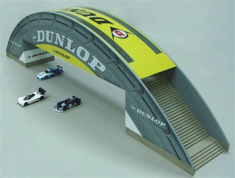 spark model dunlop bridge le mans 1 43 big 117x16x30h cm
