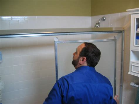 changing shower doors how to replace a shower door how tos diy
