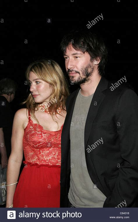lynn collins keanu reeves at the after party for the