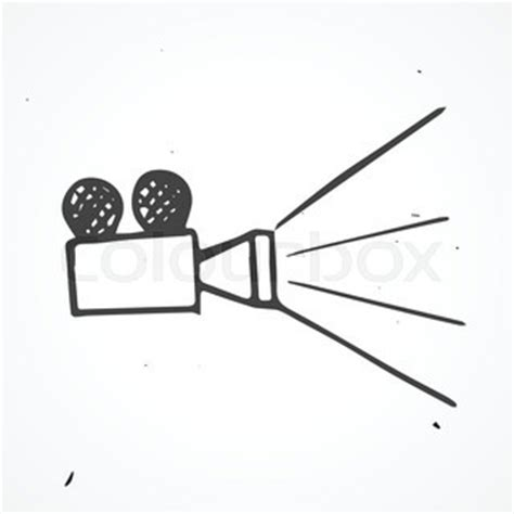 9 Drawings For Projection by Projector Vector Doodle Cinema Object Vector