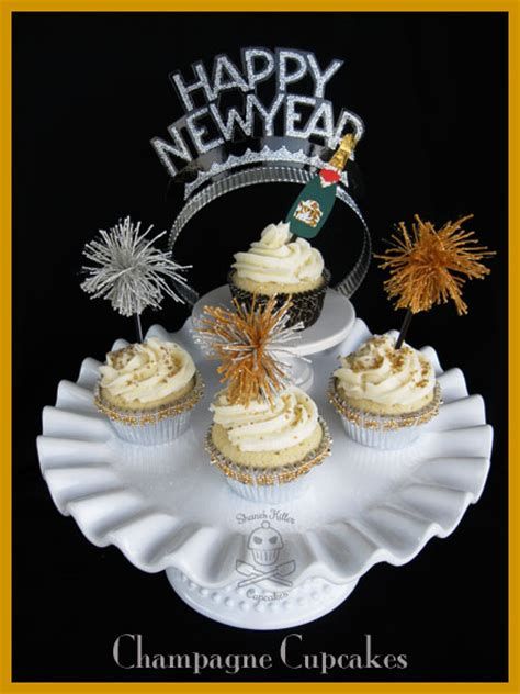 happy new year cupcakes new year s chagne cupcakes shane s killer cupcakes