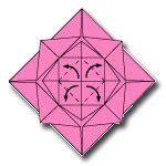 langkah membuat origami bunga mawar cara membuat origami bunga mawar cara membuat origami