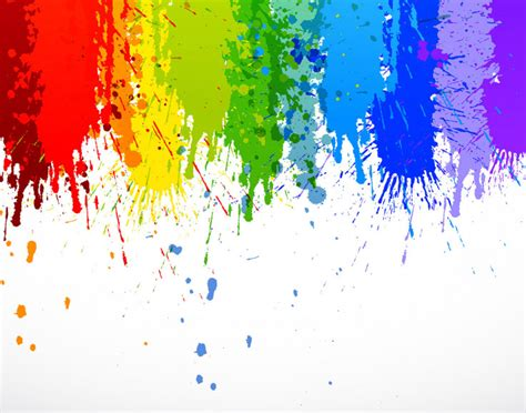 rainbow wall mural rainbow paint splatter wall mural wall murals and rainbow