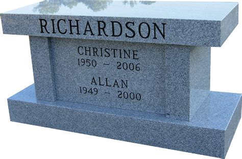 granite memorial bench distinction memorial benches and cremation benches