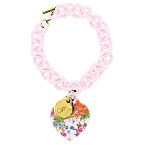 orologio ops fiori ops objects bracciale ops flower rosa ottaviano