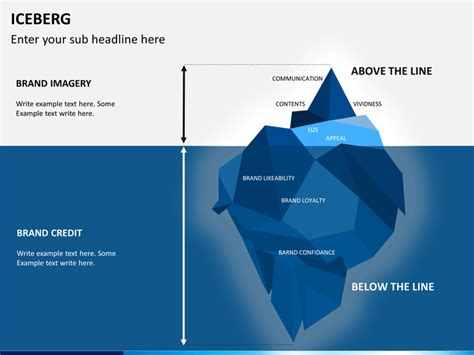 Iceberg Powerpoint Template Sketchbubble Iceberg Powerpoint Template