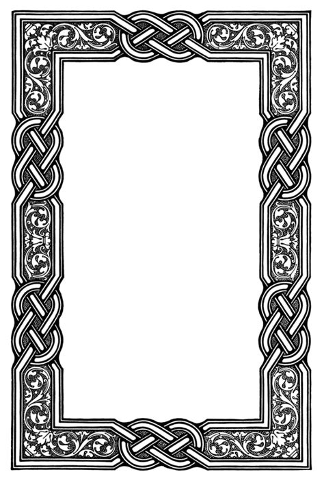 design frame pattern celtic knot border celtic knots ornament and patterns