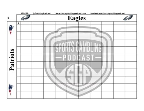 super bowl  squares sports gambling podcast
