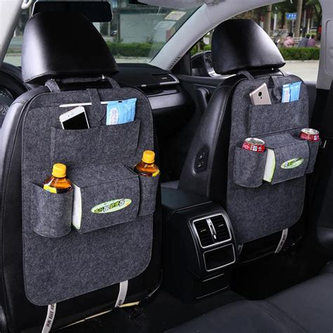 Best Quality Back Seat Organizer auto car back seat boot organizer car felt covers back seat organizer insulation versatile multi
