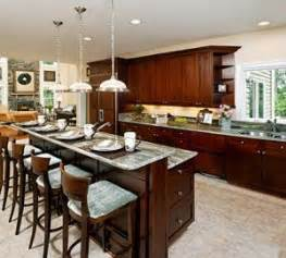 two level kitchen island northern virginia custom home builders and home builder