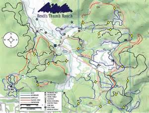 s thumb ranch trail map s thumb ranch ski map
