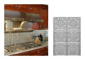 Faux Tin Kitchen Backsplash by Kitchen Backsplash Ideas Decorative Tin Tiles Metal