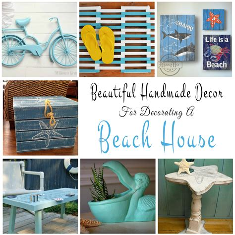 Design House Decor Etsy handmade decor ideas for decorating a beach house