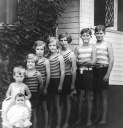 John F Kennedy Jr Children The Eight Kennedy Children Hyannis Port 1928 John F