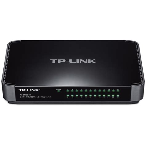 Tp Link Tl Sf1024m Switch 24 Port tp link tl sf1024m 24 port 10 100 mbps desktop switch tl