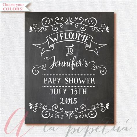 welcome signs for baby shower welcome baby shower sign chalkboard welcome by