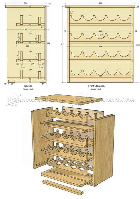 wine rack woodworking plans best 20 wine rack plans ideas on
