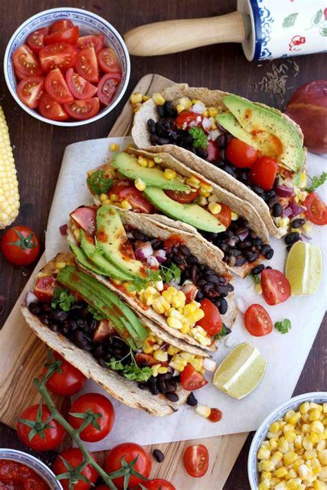 how to make vegetarian tacos recipe 25 mouthwatering vegan taco recipes vegetarian gastronomy