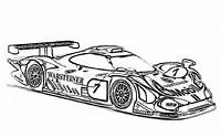 Race Car Coloring Pages Sheets Online