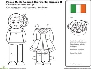 black doll white doll research paper doll worksheet education