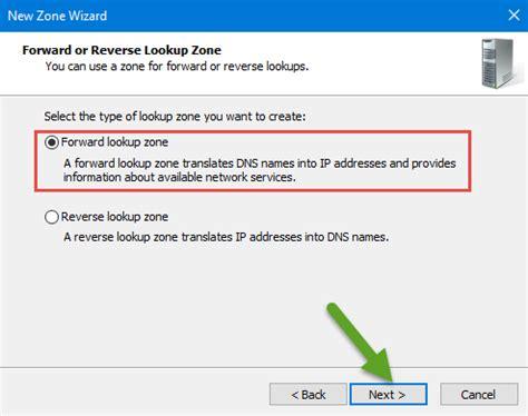 Lookup Zone Configure Dns Server Zones Fully On Windows Server 2016 Tactig