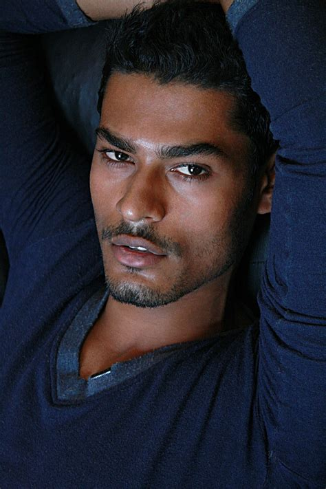nintin from mumbai the international model indian male
