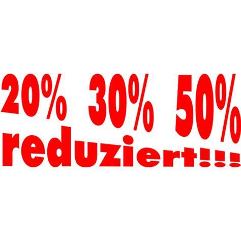 Folienbeschriftung F R Schaufenster by Folienbeschriftung Quot 20 30 50 Reduziert Quot 70 Cm Lang