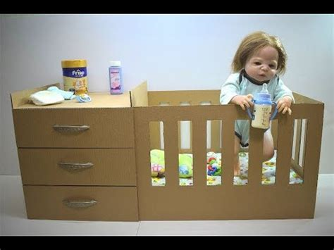 how to make a baby doll crib out of a box doovi