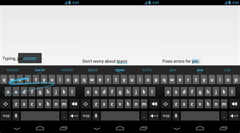 keyboard apps for android keyboard for android arrives on the play store