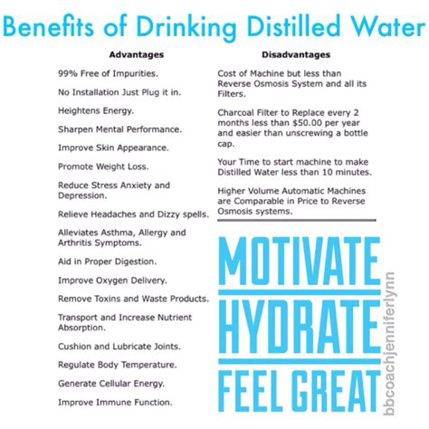 Distilled Water Detox Benefits by Distilled Water Learning To Live A Happier Healthier