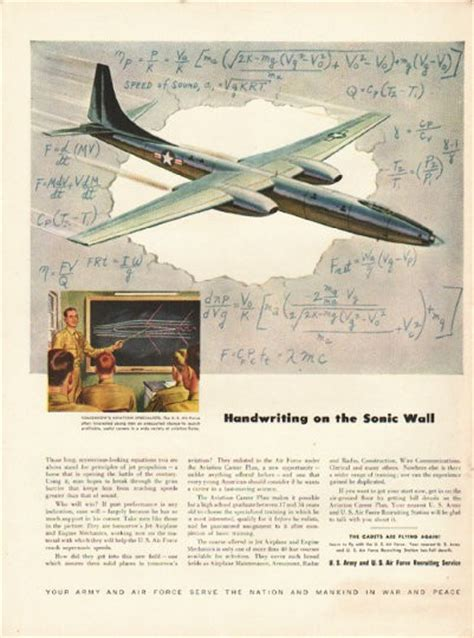 air force vintage ad sonic wall