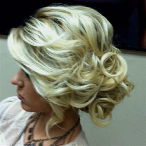 loose 50s updo hair to the side do i want trendy hair nails make