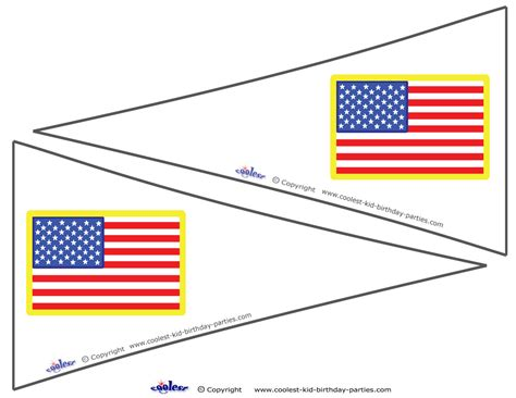 printable american flags