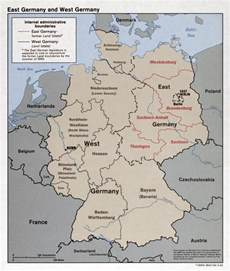 West Germany Map by Large Detailed Political And Administrative Map Of East